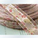 Organza ribbon, 2.5cm x 2m, 1 piece, (SD145)